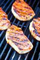 Southwest Pork Chops on grill