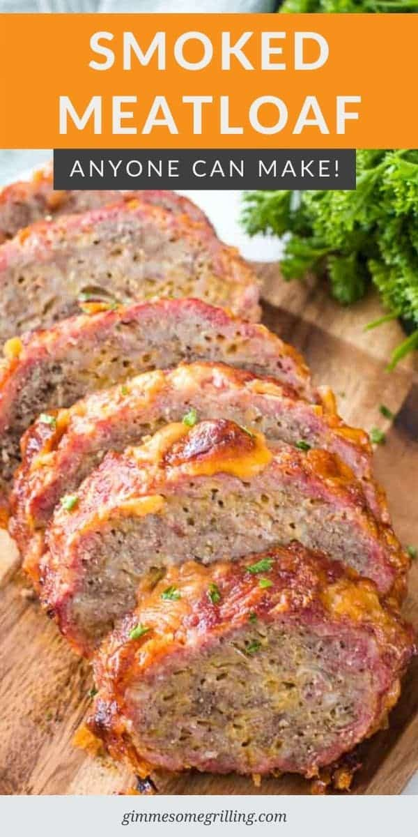 Craving Meatloaf? Looking for an easy dinner recipe on your pellet grill? Make this Smoked Meatloaf for dinner tonight. #smoker #recipe via @gimmesomegrilling