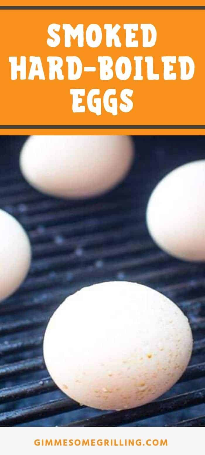 Quick and easy hard boiled eggs on your smoker! Did you know you can make Smoked Hard Boiled Eggs? They have a delicious smoked flavor perfect for salads and making into deviled eggs or enjoying plain. #smoked #eggs