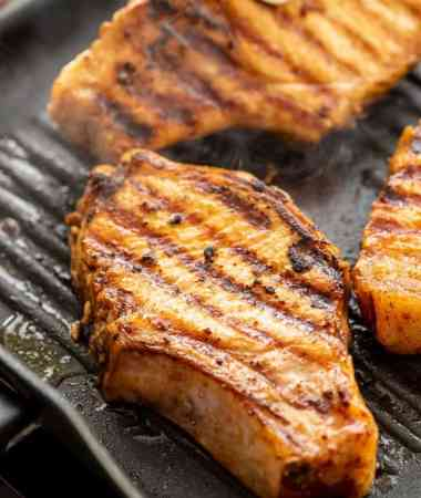 Porks Chops with Pork-Chop-Marinade