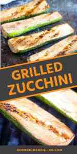 easy grilled zucchini Pins