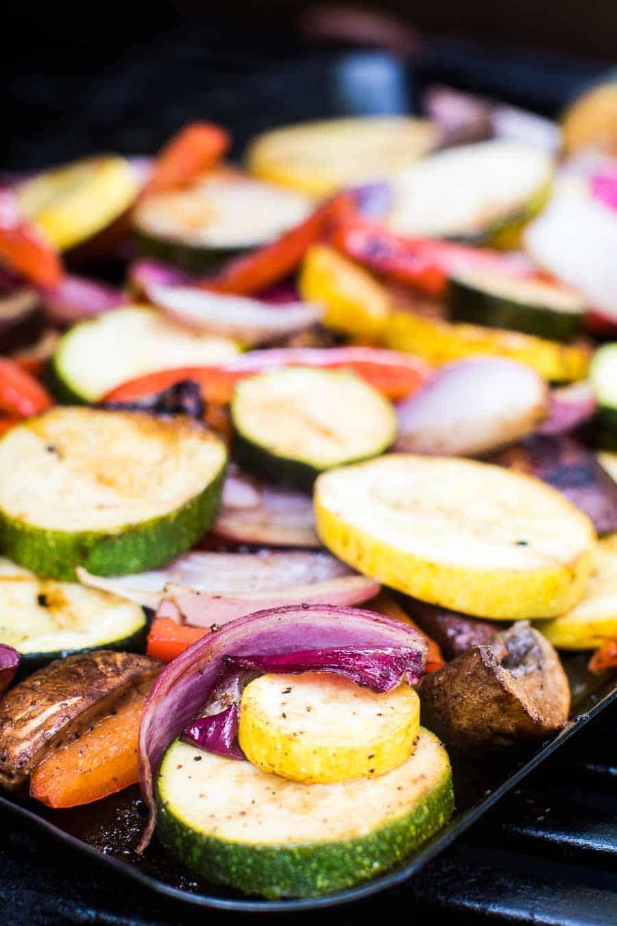 Best Grilled Vegetables on grill