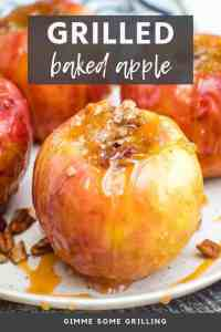 baked apples on grill New Pins