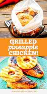 easy pineapple grilled chicken Pins
