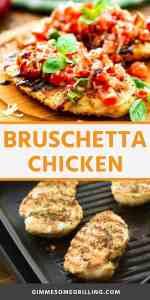 BRUSCHETTA CHICKEN recipe Pins