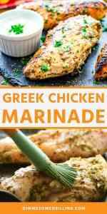 GREEK CHICKEN MARINADE recipe Pins