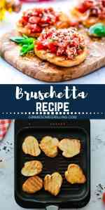 bruschetta recipe Pinterest 1