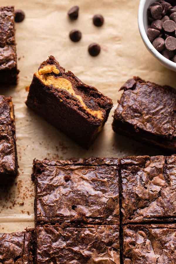 Pumpkin brownies dessert recipe