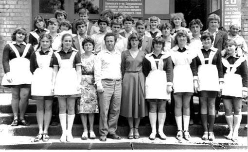 Геническая гимназия Выпускники 1982