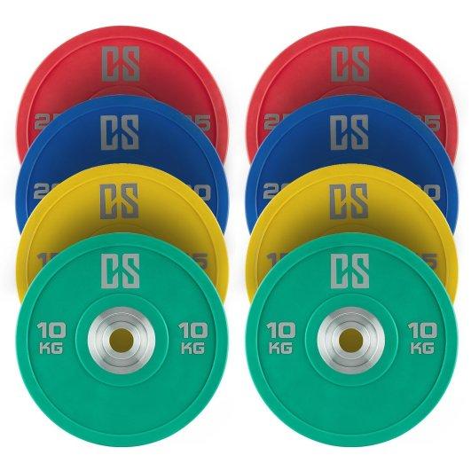 discos olimpicos pack 8