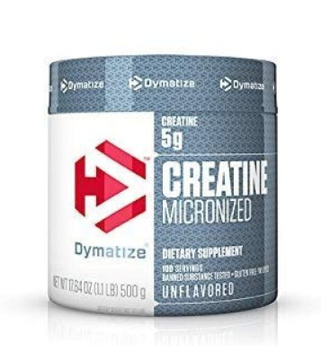 creatina monohidratada - dymatize