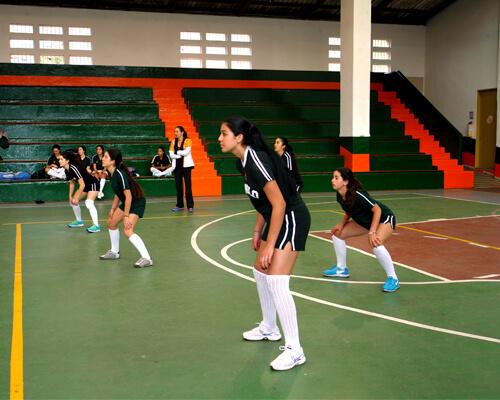 1 copa voleibol femenino gimnasio moderno for Gimnasio femenino