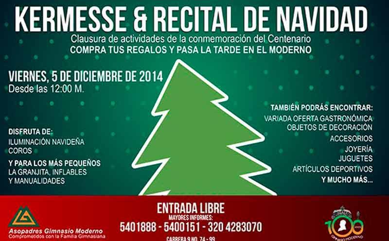 Kermesse Recital De Navidad Gimnasio Moderno