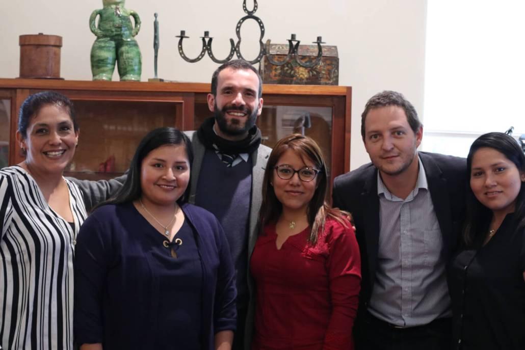 Trabajando con Perú