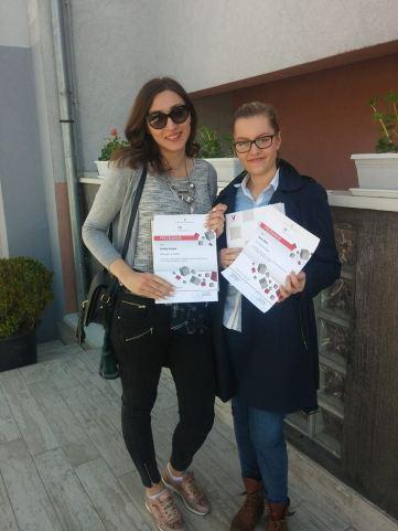Emilija Pavlek i Dora Mršić