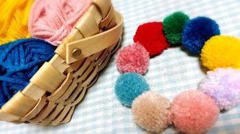 毛糸ポンポンが丸くならない!ちょ~丸くするつくり方のコツ教えます!