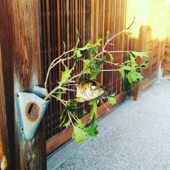 節分飾りの葉っぱを処分するには?