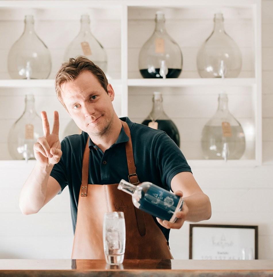 Jon Hillgren of Hernö Gin