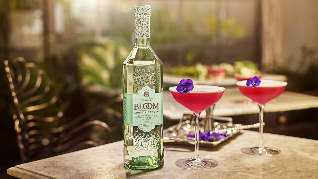 Clover Club Bloom Gin cocktail