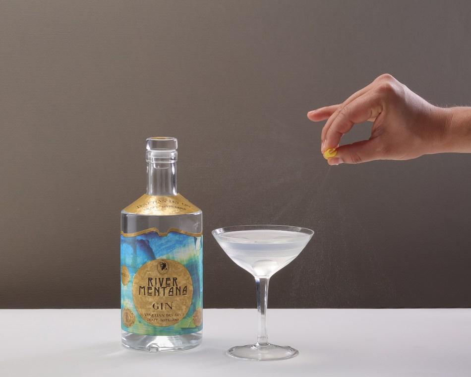 River Mentana Gin cocktail
