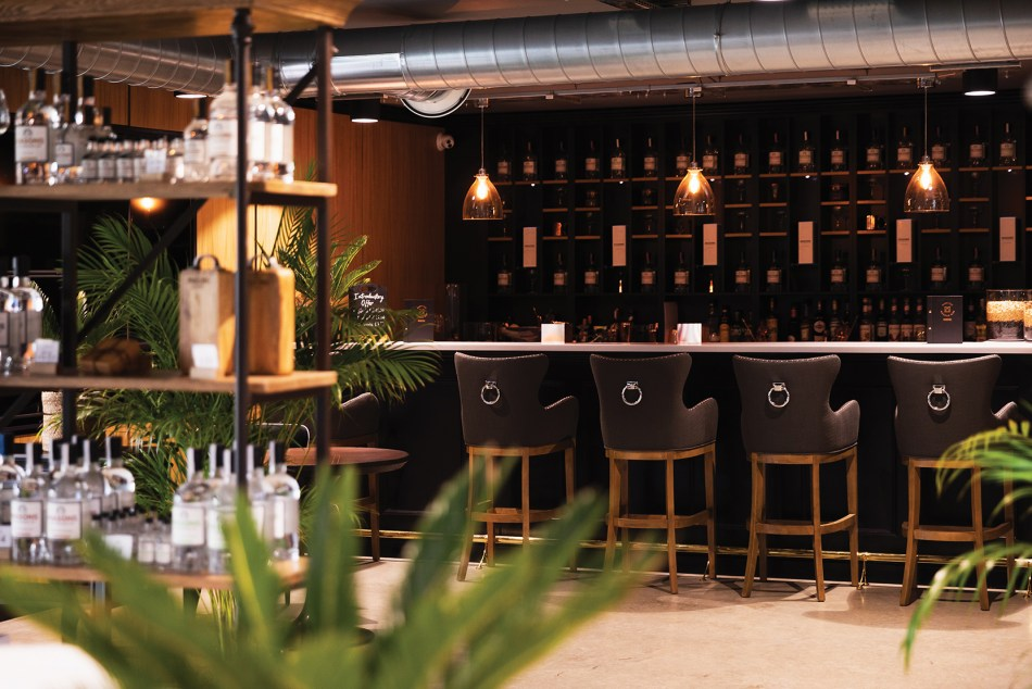 Masons of Yorkshire new distillery bar