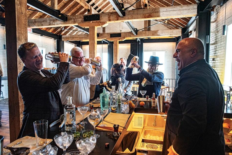 Bently Heritage Estate Distilling tasting room