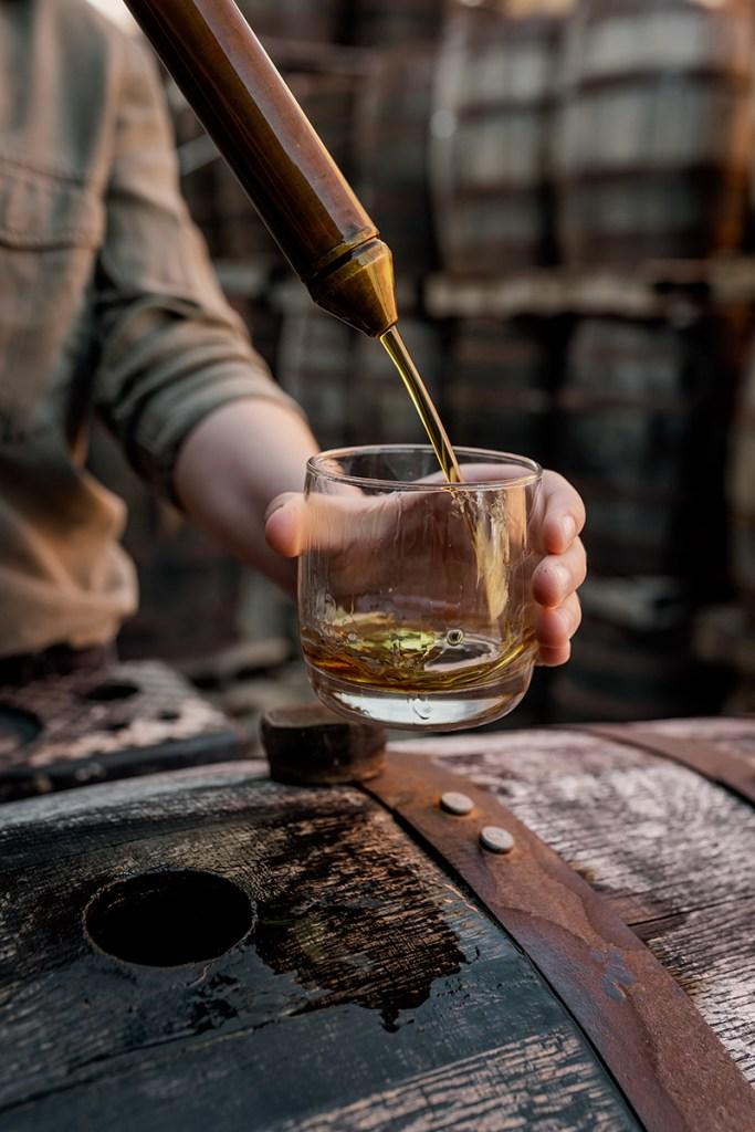 Treraty Oak Distilling barrels