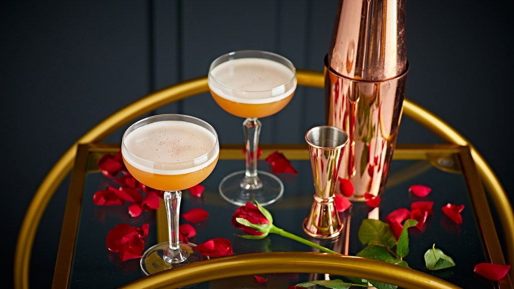 Slingsby Gin French Kiss cocktail