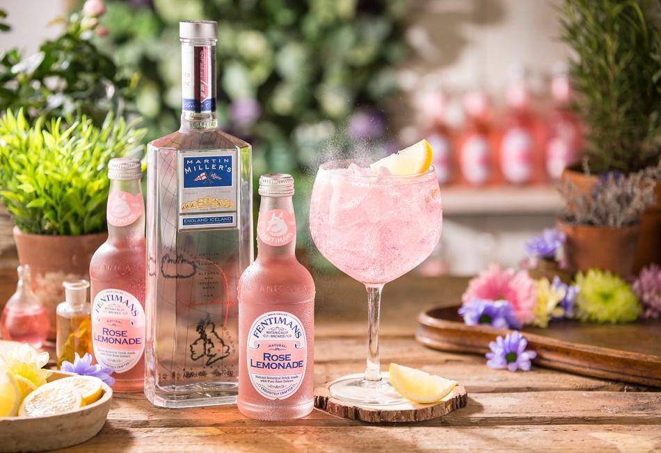 Martin Miller's Gin Rose Garden G&T