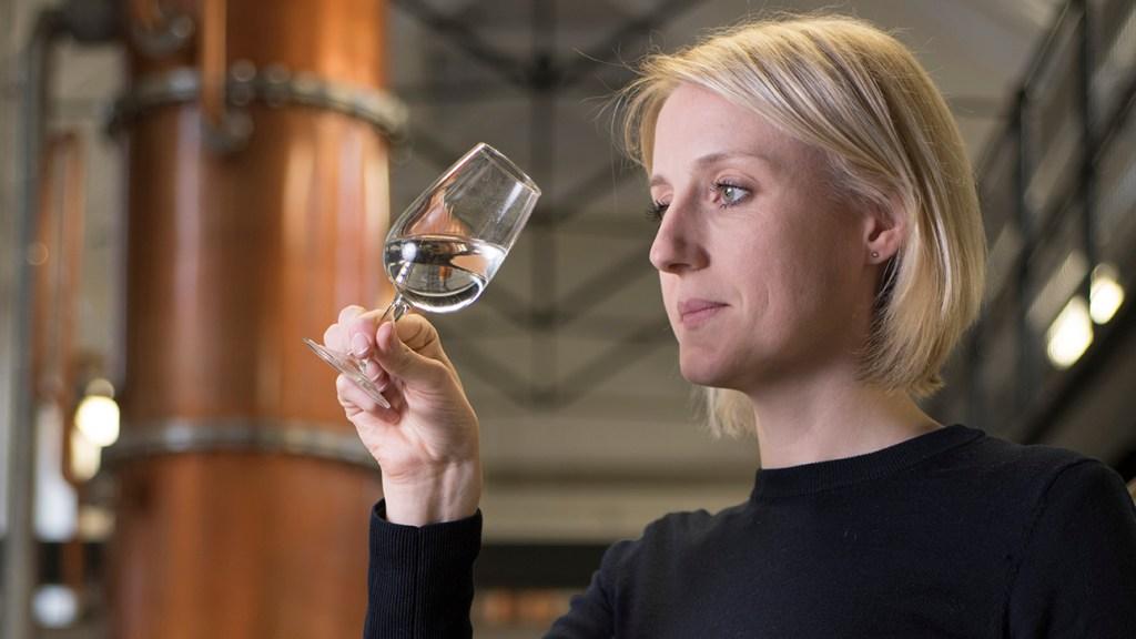 Dr Anne Brock, master distiller at Bombay Sapphire