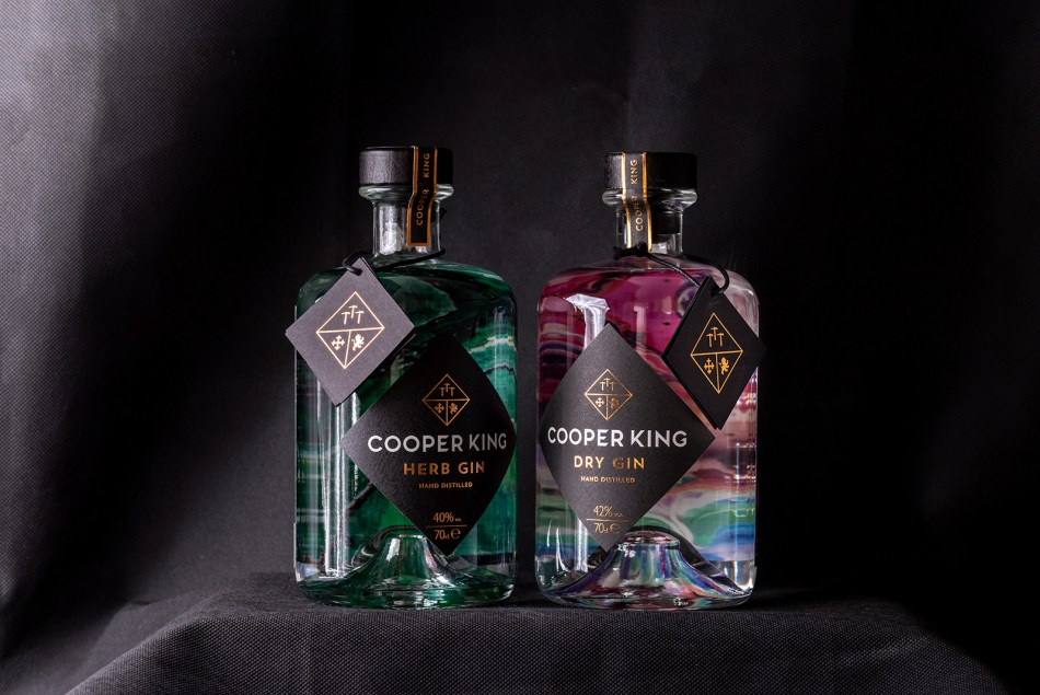 Cooper King's Dry and Herb Gins