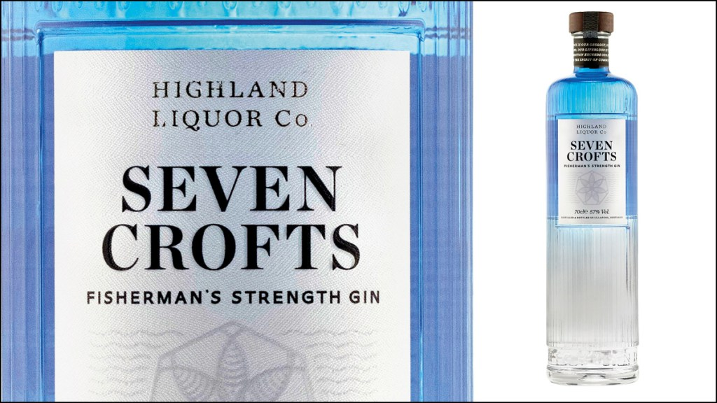 Seven Crofts Fisherman's Strength Gin