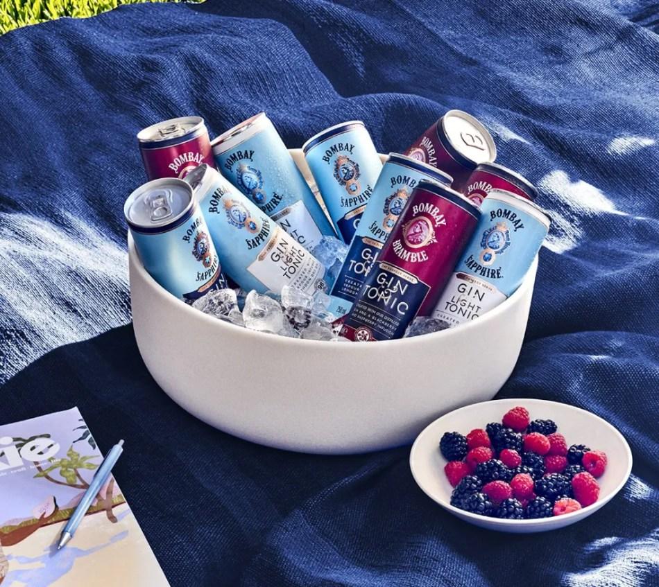 Bombay Sapphire ready-to-drink range