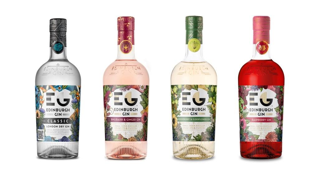 Edinburgh Gin Special Edition labels