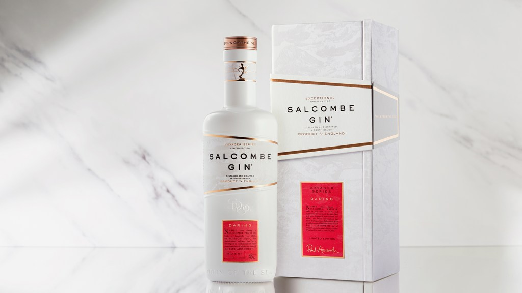 Salcombe Gin Voyager series Daring