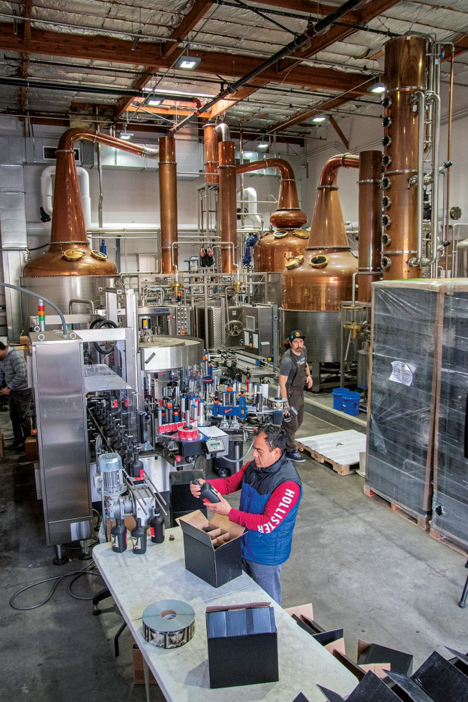 Inside Loch & Union Distillery