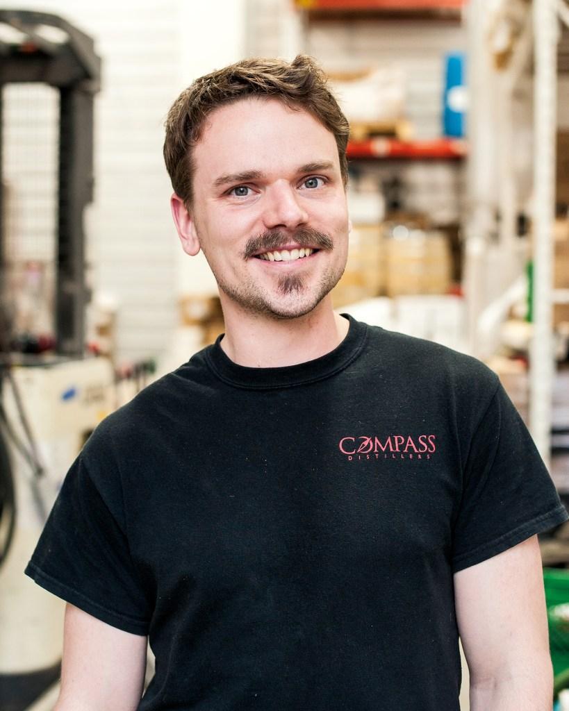 Compass Distillery distiller Alex Wrathell