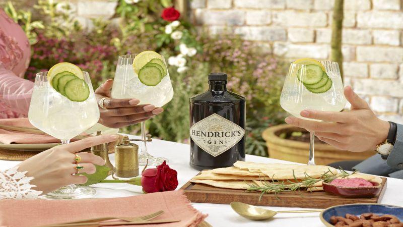 Hendrick's Gin Cucumber Lemonade
