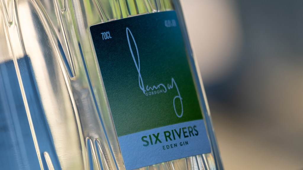 Six Rivers: Eden Mill Gin designed by Gordon Ramsay and Eden Mill, St Andrews
