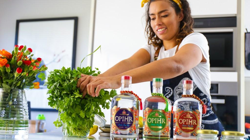 Masterchef's Phili Armitage-Mattin with Opihr Gin
