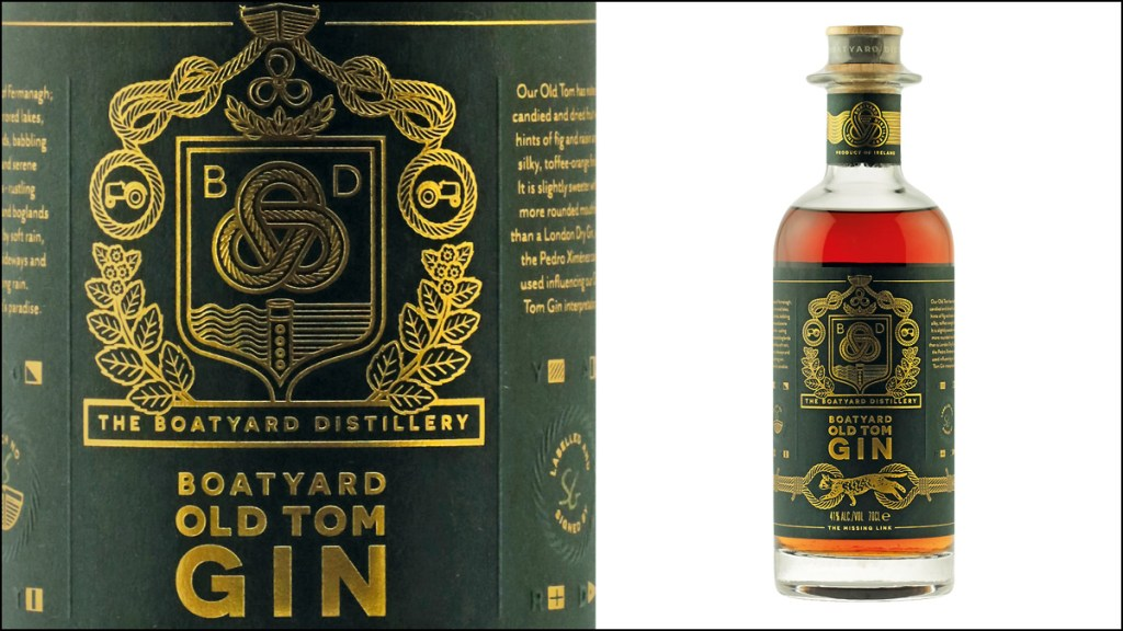 Boatyard Distillery Old Tom Gin