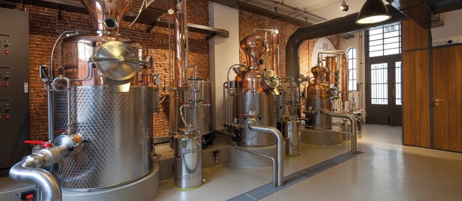 Lucas Bols Wynand Fockink distillery