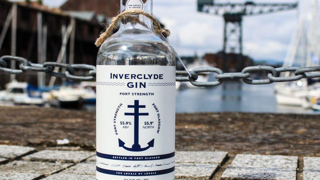 Inverclyde Gin Port Strength