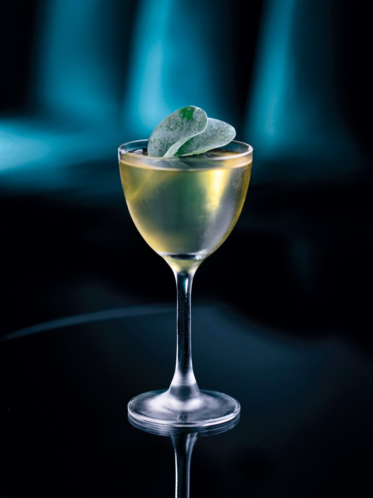 Oyster Leaf Martini from Red Frog Speakeasy