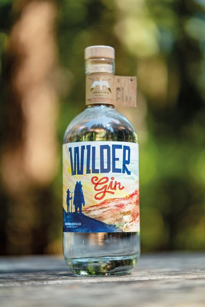 Wilder Gin from Ventura Spirits