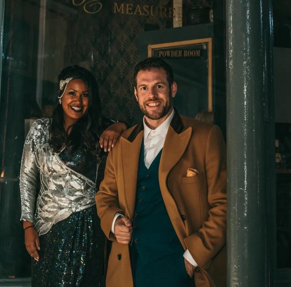Matt Wignall and Jamila Juma-Ware co-founders of Drapers