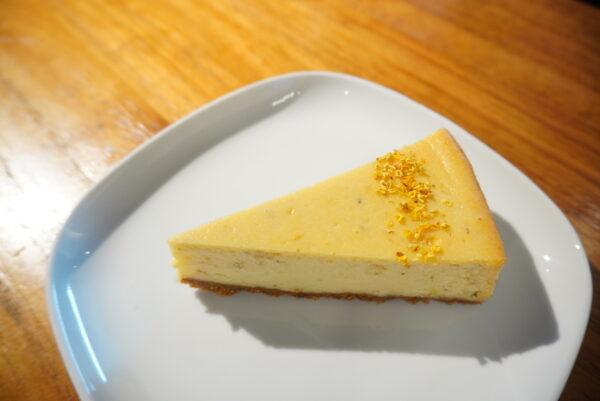 キンモクセイのケーキ