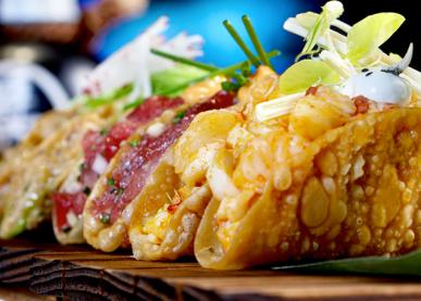 Sushi Samba Las Vegas Crispy Taquitos