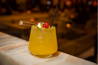 Andreas Las Vegas cocktail Passion Cooler
