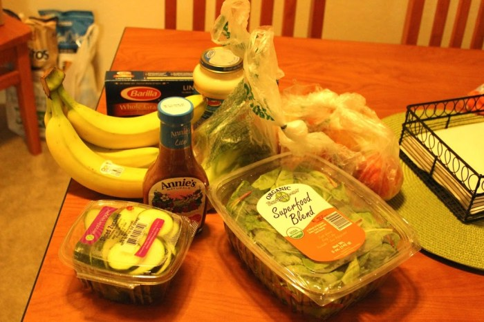Grocery Haul: College